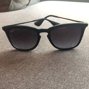 Authentic Black Ray-Ban Sunglasses